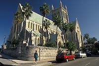 church, Bermuda, Hamilton, Cathedral of the Most Holy Trinity an Anglican church in the town of Hamilton in Bermuda.