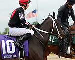 May 25, 2015 Street Story (#10, ridden by Florent Geroux) wins the 12th running of the G3 Winning Colors Stakes at Churchill Downs on Memorial Day. Street Story is a 4 year old dark bay/brown filly owned by Whispering Oaks Farm LLC (Carrol Castille) and trained by Steven M. Asmussen.  By Street Cry x Perfect Story (Tale of the Cat.) 2nd place Heykittykittykitty, 3rd place Spring Included.  ©Mary M. Meek/ESW/CSM