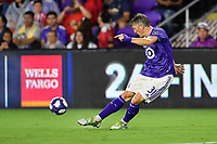 Orlando, FL - Wednesday July 31, 2019:  Bastian Schweinsteiger #31 during the Major League Soccer (MLS) All-Star match between the MLS All-Stars and Atletico Madrid at Exploria Stadium.