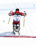 Pyeongchang, Korea, 14/3/2018-Collin Cameron competes in the cross country sprints during the 2018 Paralympic Games in PyeongChang. Photo Scott Grant/Canadian Paralympic Committee.