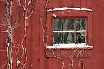 Barn Window Winter