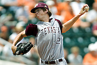 Hales, Ross 0614.jpg.  Big 12 Baseball game with Texas A&M Aggies at Texas Lonhorns  at UFCU Disch Falk Field on May 9th 2009 in Austin, Texas. Photo by Andrew Woolley.