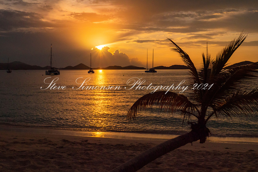Honeymoon Beach Sunset<br />