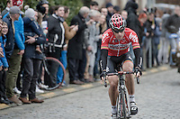 Jurgen Roelandts (BEL/Lotto-Soudal) up Nokere Berg<br /> <br /> 69th Kuurne-Brussel-Kuurne 2017 (1.HC)