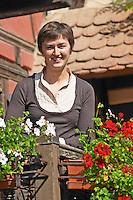 Melanie Pfister owner dom pfister dahlenheim alsace france