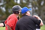 NELSON, NEW ZEALAND - OCTOBER 8: Stoke Eagles v Waimea Eagles, Saxton Softball diamond, Nelson, New Zealand, Saturday 8 October (Photo by: Barry Whitnall Shuttersport Limited)