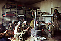 Iran 1981.Peshmergas of KDPI  in  their dormitory