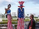 July 3, 2021:   Scenes from Princess Rooney Day on at Gulfstream Park in Hallandale Beach, Florida. LizLamont/Eclipse Sportswire/CSM