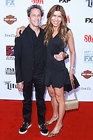 HOLLYWOOD, LOS ANGELES, CA, USA - SEPTEMBER 06: Brian Grazer, Veronica Smiley arrive at the Los Angeles Premiere Of FX's 'Sons Of Anarchy' Season 7 held at the TCL Chinese Theatre on September 6, 2014 in Hollywood, Los Angeles, California, United States. (Photo by David Acosta/Celebrity Monitor)