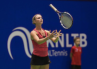 December 16, 2014, Rotterdam, Topsport Centrum, Lotto NK Tennis, Janneke Wikkeling (NED)<br /> Photo: Tennisimages/Henk Koster
