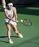 Hiroko Kuwata (JPN) defeats Allison Riske (USA) 6-0, 7-5,  at the CitiOpen in Washington, D.C., Washington, D.C.  District of Columbia on July 28, 2014.