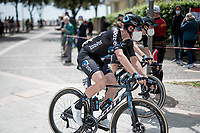 Nico Denz (DEU/DSM) at the start in Grado<br /> <br /> 104th Giro d'Italia 2021 (2.UWT)<br /> Stage 15 from Grado to Gorizia (147km)<br /> <br /> ©kramon