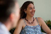 Nathalie Cialdella.<br /> Belém, Pará, Brasil.<br /> Foto Paulo Santos<br /> 12/04/2014