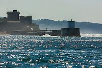 France, Pyrénées-Atlantiques (64), Pays-Basque, Ciboure, le fort de Socoa, construit sous Louis XIII et remanié par Vauban    // France, Pyrenees Atlantiques, Basque Country, Ciboure, Socoa Fort, built under the regn of King Louis XIII and modified by Vauban
