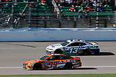 #19: Daniel Suarez, Joe Gibbs Racing, Toyota Camry ARRIS #13: Ty Dillon, Germain Racing, Chevrolet Camaro GEICO