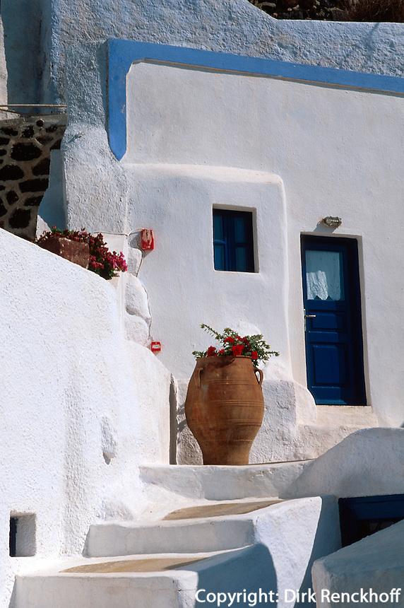 Griechenland, Insel Santorin (Santorini), in  Imerovigli