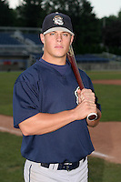 Mahoning Valley Scrappers Adam Davis poses for a photo before a NY-Penn League game at Dwyer Stadium on July 30, 2006 in Batavia, New York.  (Mike Janes/Four Seam Images)