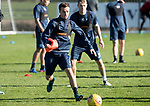 St Johnstone Trainig….20.10.17<br />Stefan Scougall pictured during training this morning at McDiarmid Park ahead of tomorrows game against Hearts<br />Picture by Graeme Hart. <br />Copyright Perthshire Picture Agency<br />Tel: 01738 623350  Mobile: 07990 594431