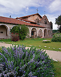 Monterey County, CA:  Mission San Antonio De Padua founded in 1771 located on the Fort Hunter Ligget Military Reservation