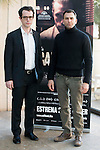 "Actors Martín Bacigalupo and Timothy Gibbs of the film Carles Torras during the junket of the film ""Callback"" in Madrid, Spain. January 17, 2017. (ALTERPHOTOS/BorjaB.Hojas)"