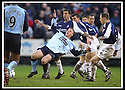 25/1/03       Copyright Pic : James Stewart                  .File Name : stewart-falkirk v hearts 25.GRAEME WEIR IS HELD BACK BY OWEN COYLE.....James Stewart Photo Agency, 19 Carronlea Drive, Falkirk. FK2 8DN      Vat Reg No. 607 6932 25.Office : +44 (0)1324 570906     .Mobile : + 44 (0)7721 416997.Fax     :  +44 (0)1324 570906.E-mail : jim@jspa.co.uk.If you require further information then contact Jim Stewart on any of the numbers above.........