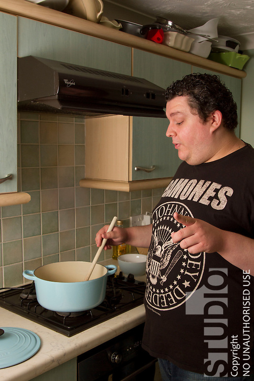 Shane Jackson. Contestant on Come Dine with Me. Channel 4