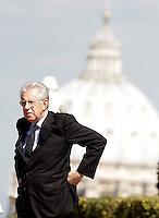 20120921 ROMA-ESTERI: MATTINATA DI INCONTRI PER MONTI