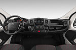 Stock photo of straight dashboard view of 2019 Citroen Jumper - 2 Door Cutaway Dashboard