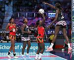 29/10/17 Fast5 2017<br /> Fast 5 Netball World Series<br /> Hisense Arena Melbourne<br /> Malawi v Sth Africa <br /> Joanna Kachilika <br /> <br /> <br /> <br /> <br /> <br /> Photo: Grant Treeby