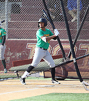 Ricardo Cespedes participates in the 2019 Winter Meetings International Showcase sponsored by agency Mejia Top 10 at Point Loma High School on December 9-11, 2019 in San Diego, California (Bill Mitchell)