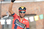 Vincenzo Nibali (ITA) Bahrain-Merida at sign on before Stage 3 of the 2019 Tour de France running 215km from Binche, Belgium to Epernay, France. 8th July 2019.<br /> Picture: Colin Flockton | Cyclefile<br /> All photos usage must carry mandatory copyright credit (© Cyclefile | Colin Flockton)