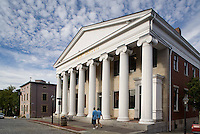 Court house on Water Street, New Bedford, Bristol County, MA (Greek revival)