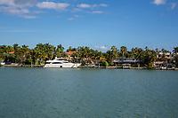 Miami, Florida.  Hibiscus Island.