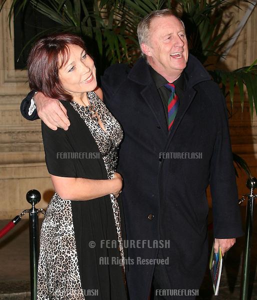 Chris Tarrant and Jane Bird arriving  at Cirque du Soleil's Varekai gala opening night at the Royal Albert Hall, London.  05/01/2010.  Picture by: Alexandra Glen / Featureflash