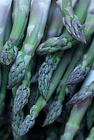 Europe/France/Languedoc-Roussillon/30/Gard/Uzès : Asperges du Gard sur le marché de la place aux Herbes