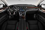 Stock photo of straight dashboard view of 2016 Cadillac XTS - 4 Door Sedan Dashboard