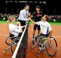 10-2-10, Rotterdam, Tennis, ABNAMROWTT, Krajicek rolstoeltennis djokovic