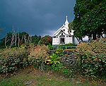 Saint Benedict's Catholic Church, known as the Painted Church, .Kailua-Kona on the Big Island, Hawaii