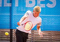 Amstelveen, Netherlands, 13 August 2020, NTC, National Tennis Center, KNLTB Wilcard Tournament, <br /> Niels Visker (NED)<br /> Photo: Henk Koster/tennisimages.com