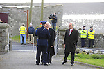 Former Garda Commissioner Martin Callinan arrivers at The Funeral of Garda Anthony Golden RIP in St Oliver's church Blackrock Co Louth.<br /> <br /> Garda Golden was guned down in Omeath last Sunday.<br /> Picture Newsfile | Fran Caffrey