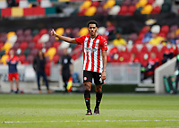 6th September 2020; Brentford Community Stadium, London, England; English Football League Cup, Carabao Cup, Football, Brentford FC versus Wycombe Wanderers; Dominic Thompson of Brentford