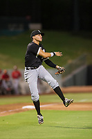 AZL White Sox Ramon Beltre (6) makes a throw to first base against the AZL Angels on August 14, 2017 at Diablo Stadium in Tempe, Arizona. AZL Angels defeated the AZL White Sox 3-2. (Zachary Lucy/Four Seam Images)