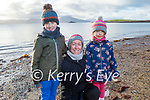 Charlie, Lisa and Freya O'Connell enjoying a stroll in Fenit on New Years Day.