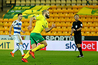 29th December 2020; Carrow Road, Norwich, Norfolk, England, English Football League Championship Football, Norwich versus Queens Park Rangers; Teemu Pukki of Norwich City celebrates after he scores from the penalty spot for 1-0 in the 75th minute