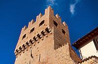 Italien, Umbrien, Stadttor von Montefalco