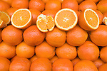 Oranges, Marche Market, Paris, France, Europe