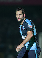 Sam Wood of Wycombe Wanderers during the Sky Bet League 2 match between Wycombe Wanderers and Notts County at Adams Park, High Wycombe, England on 15 December 2015. Photo by Andy Rowland.