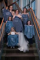 Wedding of Jillian Martin and Drake Duffy at Bayshore Clubhouse in Anchorage, Alaska Dec. 28, 2019