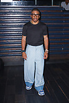 Fashion designer Romeo Hunte posing for the press after his Romeo Hunte Spring Summer 2019 collection runway show in PH-D at Dream Downtown New York City on July 11, 2018; during New York Fashion Week: Men's Spring Summer 2019.