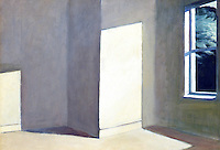 American Painters:  Edward Hopper--Sun in an Empty Room, 1963. Oil on canvas.  Collection of the Artist.